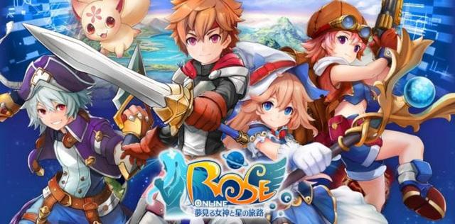 ROSE Online Mobile: Tân binh RPG cực hot dựa trên huyền thoại Nhật Bản