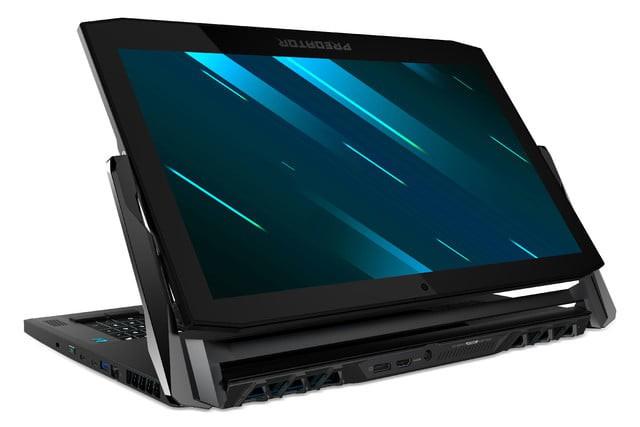 Acer ra mắt laptop gaming 2-in-1 Predator Triton 900 với màn hình 17 inch 4K lật như gương, trang bị RTX 2080, giá bán từ 4.000 USD