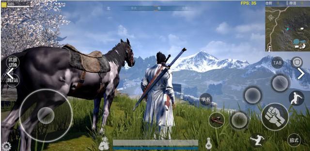Game sinh tồn Võ Hiệp X Mobile mở cửa thử nghiệm
