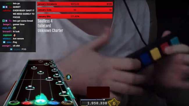Streamer 'Guitar Hero' chinh phục thành công ca khúc siêu khó, 4 năm chưa ai phá đảo nổi
