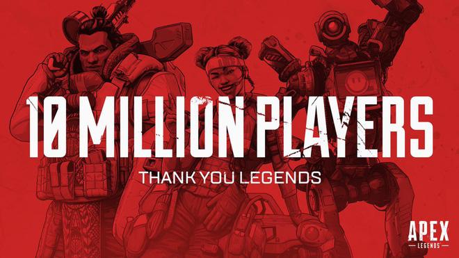 """Bom tấn Apex Legends """"đột phá"""" 10 triệu người chơi chỉ trong 3 ngày ra mắt"""