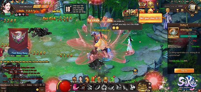 Webgame Sở Kiều tung ảnh Việt hóa, sẵn sàng ra mắt