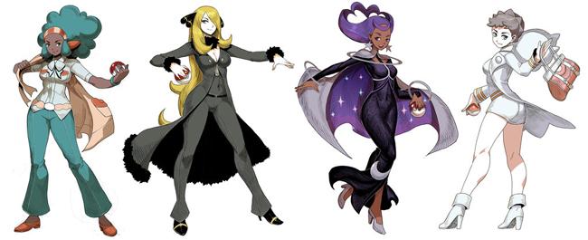 Tổng hợp những hotgirl trong series game huyền thoại Pokemon