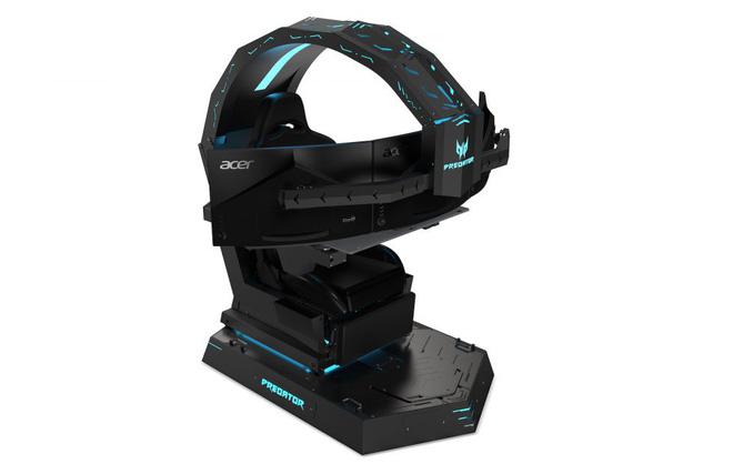 Acer ra mắt ghế gaming Predator Thronos với thiết kế cực ngầu