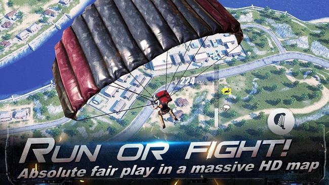 Rules of Survival - tựa game di động có lối chơi giống PUBG vừa ra mắt