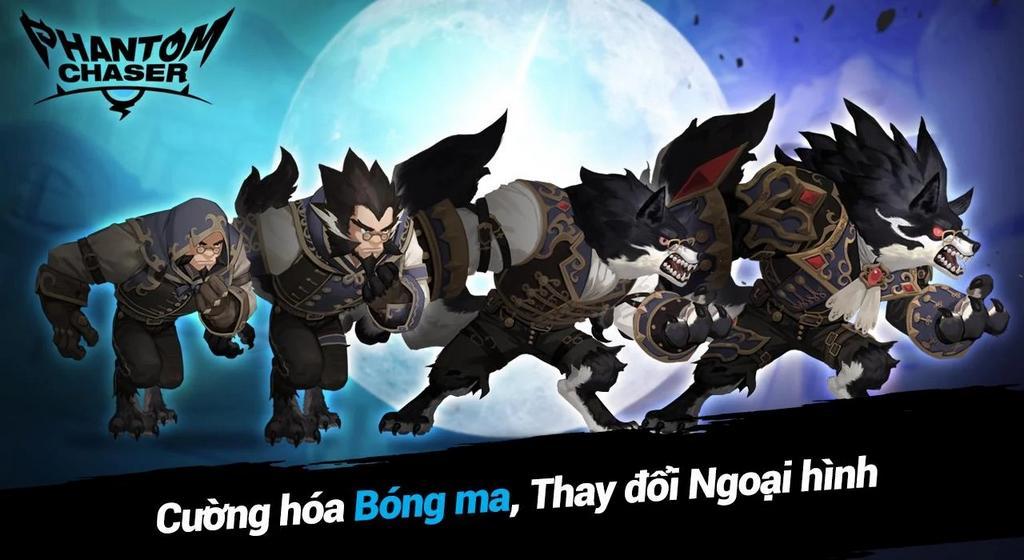 Bom tấn RPG Phantom Chaser vừa chính thức đến tay game thủ Việt