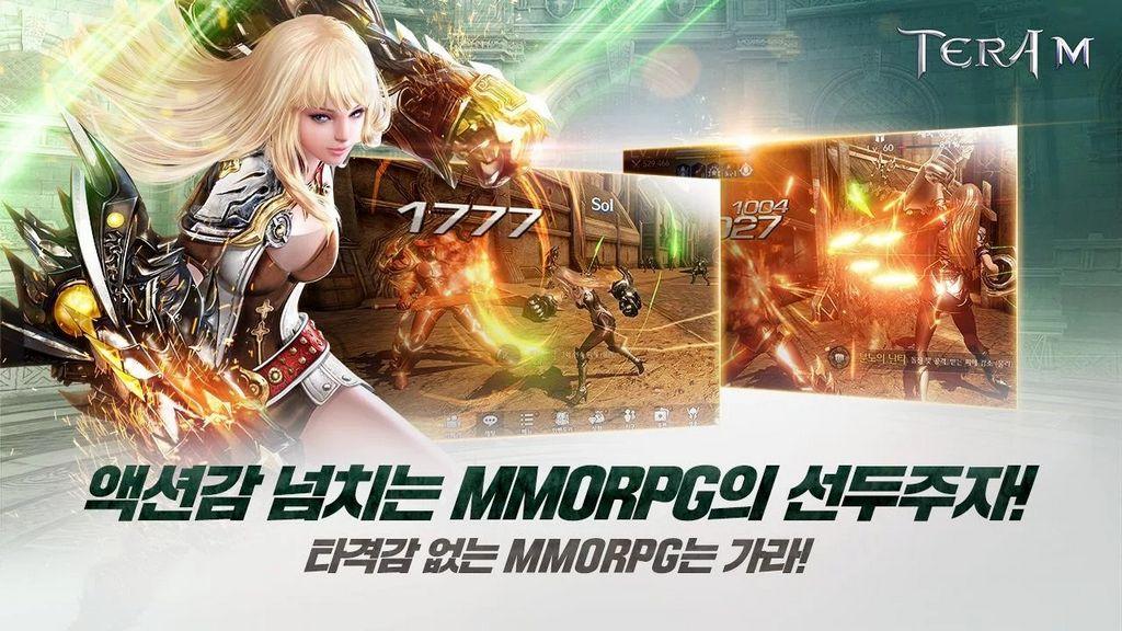 Bom tấn MMORPG TERA M đồ họa Unreal Engine 4 vừa cập bến mobile