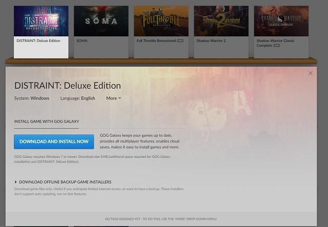 Nhận ngay tựa game Distraint: Deluxe Edition đang miễn phí trên GOG