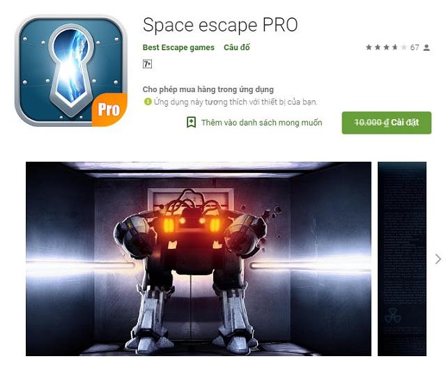 Mời tải trọn bộ 7 tựa game Escape Room trị giá 70.000 VNĐ đang miễn phí trên Android