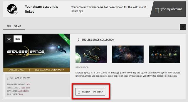 Nhận ngay tựa game vũ trụ Endless Space đang miễn phí trên Games2gether