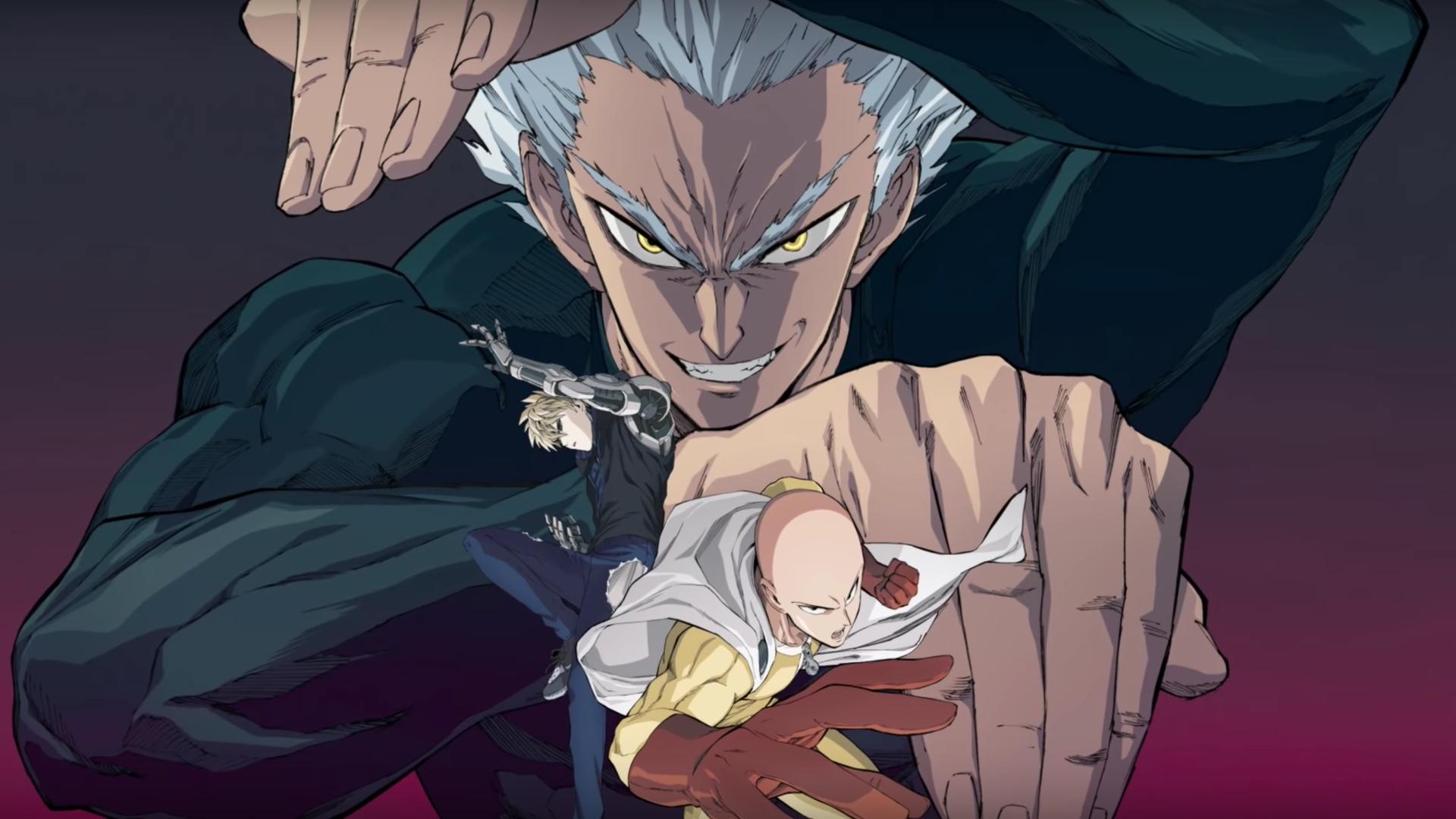 Anime One Punch Man season 2 hé lộ nhân vật mới
