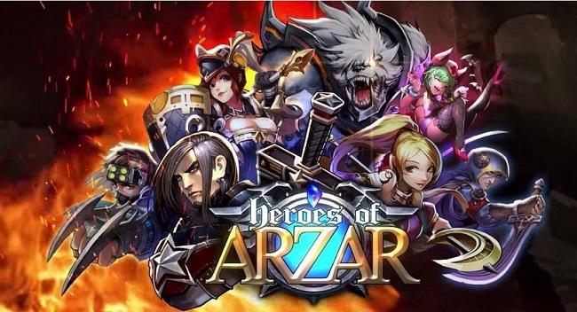 """Heroes of Arzar: RPG chiến thuật """"lai tạp"""" hấp dẫn đã cập bến mobile"""