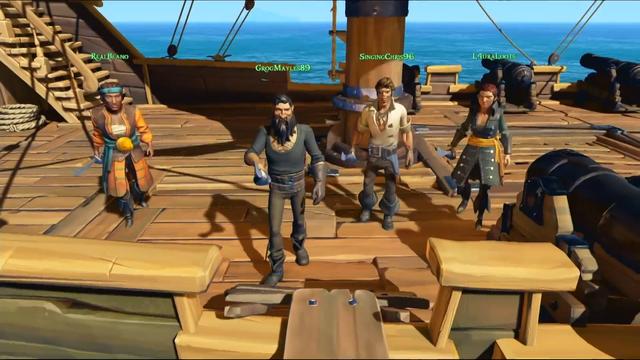 Game phiêu lưu cực chất Sea of Thieves ấn định thời gian Closed Beta