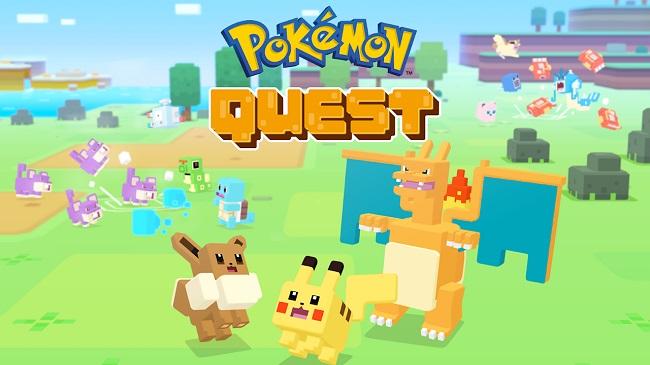 Siêu phẩm Pokémon Quest đã chính thức cập bến mobile