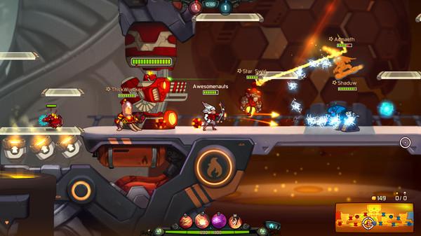 Awesomenauts – game MOBA online phá cách cực ngộ vừa mở cửa miễn phí