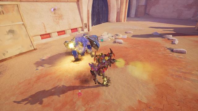 Cận cảnh Blazing Core - Game lái robot bắn nhau toé lửa đầy ấn tượng