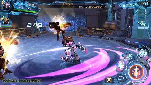 Star Legends: tân binh ARPG bối cảnh chiến tranh robot vũ trụ hấp dẫn