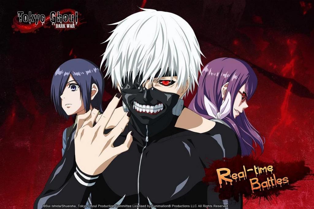 Lộ diện phiên bản game mobile của bom tấn Tokyo Ghoul trên Android