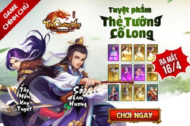 Dzogame tặng 500 Giftcode game Tân Chưởng Môn VNG