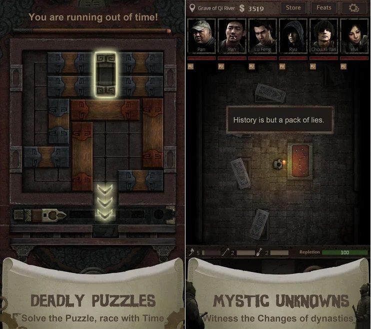 Tomb Survivor - Game sinh tồn trộm mộ cực hấp dẫn cho game thủ Android