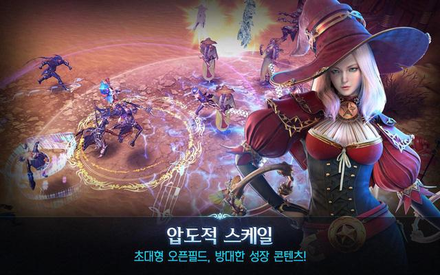 Game thủ dùng Android đã có thể chiến Royal Blood - MMORPG hành động mãn nhãn