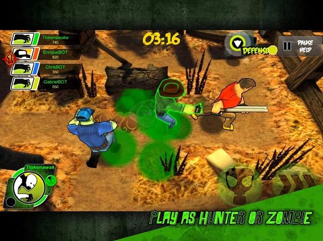 Don't touch the zombie: game zombie đồ họa đơn giản nhưng đầy thú vị