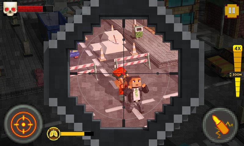 """Sniper Craft – """"biến hình"""" xạ thủ cực chất theo phong cách Minecraft"""