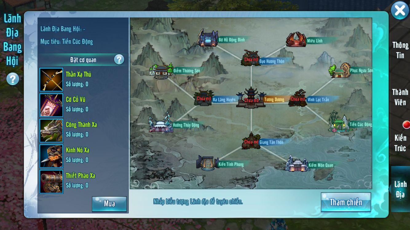 VLTK Mobile: Bí ẩn nào đang nằm bên dưới bản đồ Công Thành Chiến?