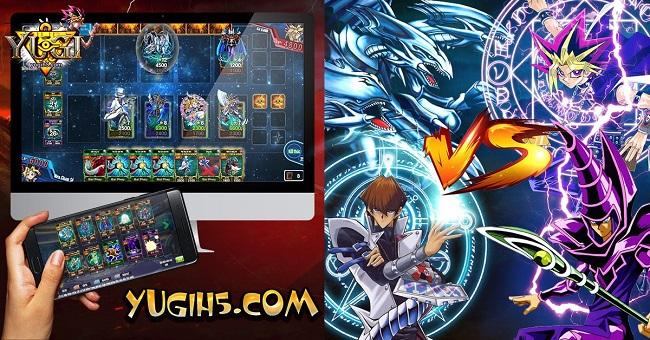 Ứng dung HTML5 – Game thẻ bài Yugih5.com tiên phong trong làng game
