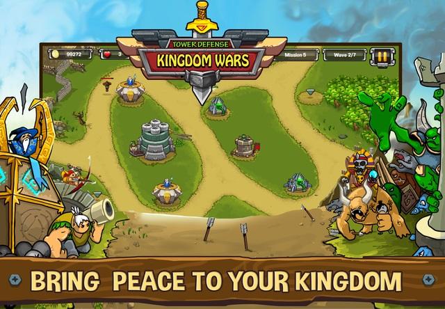 Tower Defense: Kingdom Wars – tựa game thủ thành thú vị từ NPH game Việt